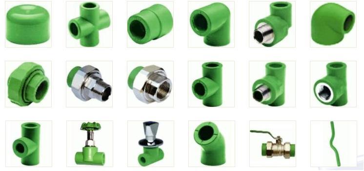 Sản phẩm ống nước và phụ kiện PPR (1)