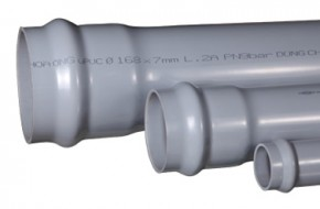 ống uPVC có gioăng cao su